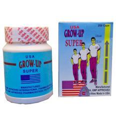 Growmax Grow Up Obat Herbal Peninggi Badan Obat Herbal Peningkat IQ dan Stamina - 1 Botol