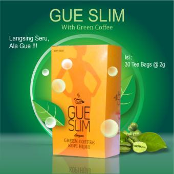 Gue Slim With Green Coffee (Isi 30 Tea Bags)