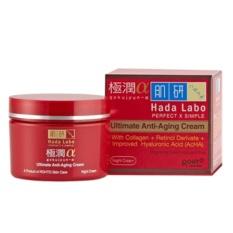 Hada LAbo Gokujyun Alfa - Anti Aging Night Cream