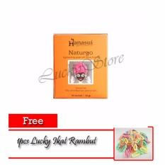 Hanasui Naturgo Masker Lumpur Pengangkat Komedo BPOM - 10 Pcs + 1pcs Lucky Ikat Rambut