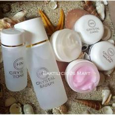 HN Crystal Cream Original - Pemutih Muka & Penghilang Flek Hitam - 30Gr