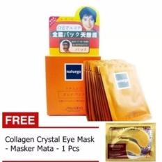 HOKI COD - Naturgo Masker Lumpur - 10 Pcs + Gratis Masker Mata 1 Sachet