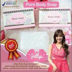 HOKI COD - Pure Body Soap by Jellys - Sabun Pemutih Badan - 100 gr - BPOM ORIGINAL - 1 Pcs