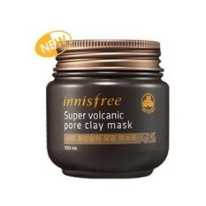 Innisfree Super Volcanic Pore Clay Mask Masker Wajah Komedo - 100ml