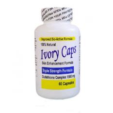 Ivory Caps - 60 kapsul Pemutih Tubuh FDA USA