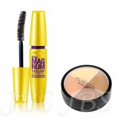 JBS Mascara The Fals Lash Volume Express - Mascara Waterproof - Hitam - MN Foundation Concealer
