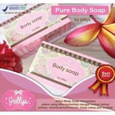 JBS Pure Soap by Jellys - Sabun Pemutih Muka Dan Badan berhologram - 100 gram - 1 Pcs