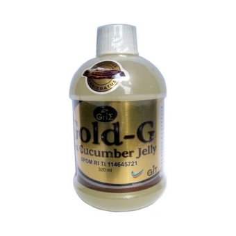 JELLY GAMAT GOLD-G 320ml ORIGINAL, Gamat Kualitas Gold G