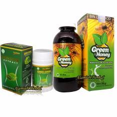 kapsul Green coffee dan Madu Green Coffee - 1paket