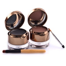 Kiss Beauty Waterproof Gel Eyeliner + Eyebrow 2 in 1