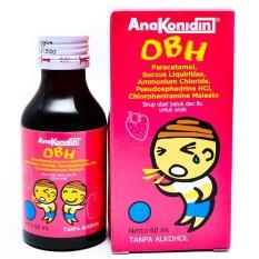 Konimex Anakonidin OBH Obat Batuk dan Flu Syrup Anak - 6 PCS 60 ML
