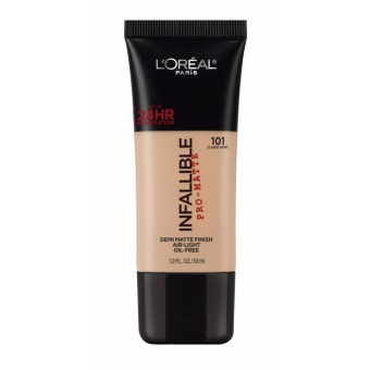 L'Oreal Paris Infallible Pro Matte Foundation - 101 Classic Ivory