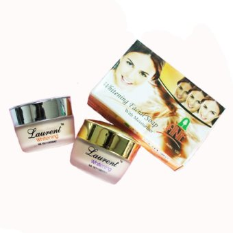 Laurent Whitening Series - Day Fondation & Night Cream + Whitening Soap