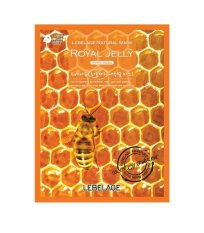 Lebelage Natural Mask Pack Royal Jelly 5 Sheet 23gr