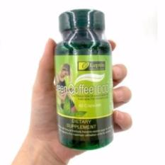 LEPTIN GREEN COFFE 1000 Capsule Diet Green Coffee Supplement