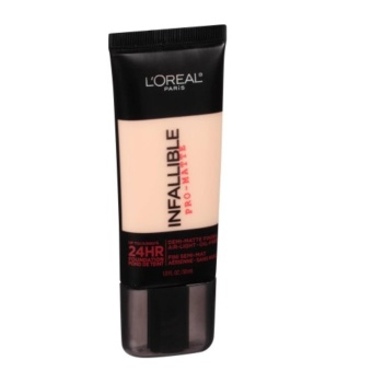 Loreal Paris Infallible Pro-Matte Foundation / L'Oreal Paris Foundation [101 Classic Ivory]