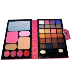 Make Up Set - Shadow, Bedak, Lipstik, Blush On - Berwadah Dompet.
