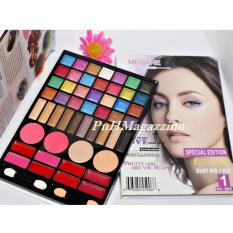 Make Up Shop Megane Palette Paket Eyeshadow, Lipstick, Eyeshadow, Blush On, Compact Powder