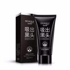 Masker Bioaqua Black Cream Acne Pulling Mask Lumpur Wajah Muka