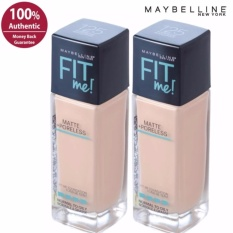 Maybelline Fit Me Matte Poreless Liquid Foundation -120 Classic Ivory