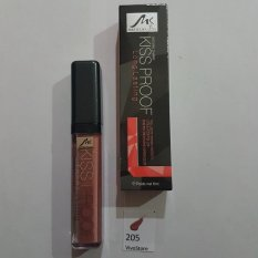 Menow Lip Cream Kiss Proof Matte - Lipgloss Cream Kiss Proof 100% Matte - No.205