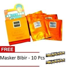 Mesh Naturgo Masker Lumpur untuk Wajah 10 Pcs + Gratis Masker Bibir 10 Pcs