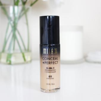 Milani Conceal + Perfect 2-IN-1 Foundation + Concealer NATURAL