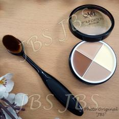 MN Foundation Concealer - Kuas Oval - Oval Brush - Oval Brush Foundation