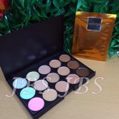 Mn Menow-Pro 15 Color Contour Cream Series - Naturgo Masker Lumpur 1 Pcs