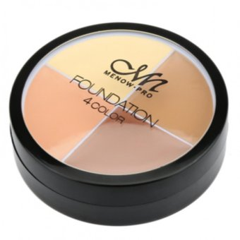 MN Menow Pro Foundation Concealer 4 Color - For Shading Contouring Corrector - Shade No 1