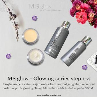 ... Ms Glow Brightening Series Paket Wajah Normal
