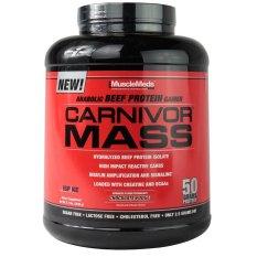 Musclemeds Carnivor Mass 5.7lbs - Chocolate Fudge