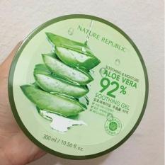 Nature Republic Aloe Vera 92% Soothing Gel 100% Original from Korea [300 ml]