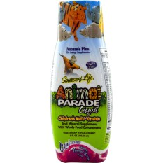 Nature's Plus Animal Parade Liquid 236 Ml - Multivitamin Anak, Meningkatkan Nafsu Makan Anak, Imunitas Anak
