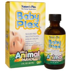 Nature's Plus USA - Baby Plex Multivitamin Liquid / Cair 60ml - Orange Flavor