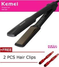 New Beauty Hair Straightening Iron Straightener Pranchas De Cabelo Curling Irons Styling Tools Chapinha Professional Ionic Flat Iron - intl