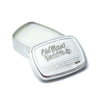Oh Man! Pomade Waxbased Nutri Green 85 gram