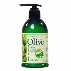 Olive Herbal Shampoo Original Korea 270 ml
