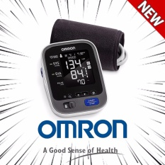Omron 10 Series Wireless Upper Arm Blood Pressure Monitor with Cuff that fits Standard and Large Arms (BP786N) with Bluetooth Smart Connectivity - intl