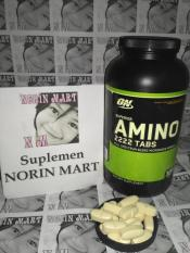 On Optimum Nutrition Amino 2222 50 Tablet / 50 Tabs / 50tablet / 50tabs / Eceran / Keteng / Repack / Suplemen Fitnes / Protein / Gym / Fitnes / Otot / Susu / Amino2222 / No / Superior Amino