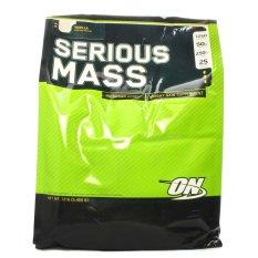 Optimum Nutrition Serious Mass Gainer 12 lb - 6kg - Vanilla
