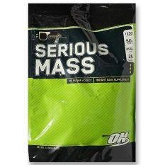 Optimum Nutrition Serious Mass Gainer 12 lb Chocolate