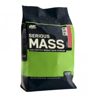 Optimum Nutrition Serious Mass Gainer 12 lbs Strawberry