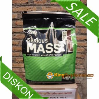 Optimum Nutrition - Serious Mass Weight Gainer 12 Lb - Chocolate