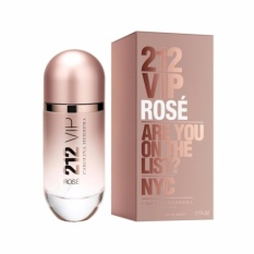 Parfum wanita masa kini 212 Vip Rose Carolina Herera Parfum EDP Wanita - 100ml