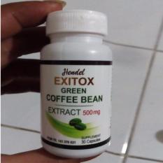 Pelangsing Exitox Green Coffee Hendel
