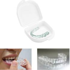 Pengawal mulut gigi punggawa kasus gigi palsu pasang gigi palsu gigi tiruan kotak penyimpanan - International