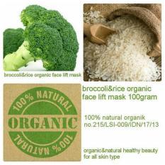 Perawatan Wajah Masker Wajah Fpd Beautyherb - Broccoli & Rice Organic Face Lift Mask