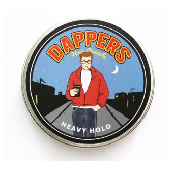 Pomade Dappers The Rebels Strong Hold Pomade Minyak Rambut