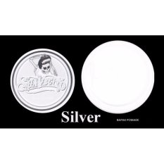 Pomade Warna Suavecito Hair Coloring Colour Color Clay Wax Non Permanent Silver Putih